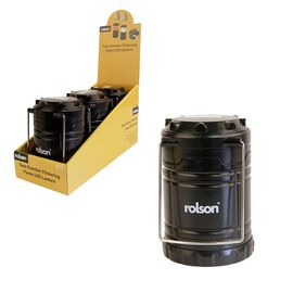 ROLSON - Twin Function Flickering Flame LED Lantern