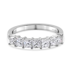 RHAPSODY 950 Platinum IGI Certified Diamond (VS/E-F) Ring 1.03 Ct.
