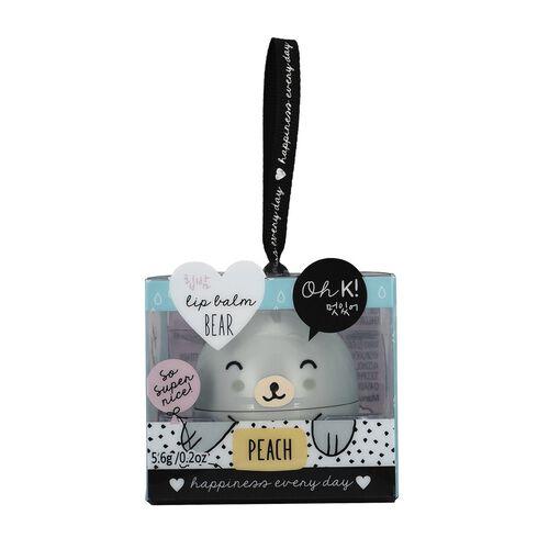 OH K-  Mini Mani Set, Lip Balm Jasmine,Lio Balm Peach and Hand Cream Jasmine