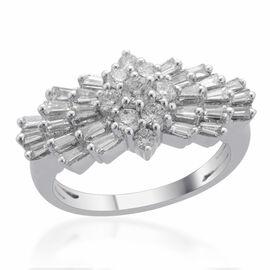 ILIANA 18K White Gold IGI Certified Diamond (Rnd) (VS-S I / G-H) Ring 1.000 Ct.