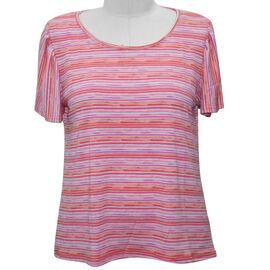 Multi Stripe Cap Sleeve Top