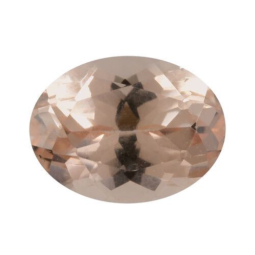 AA Morganite Oval 8.05x6.03x3.90 Faceted 1.00 Cts