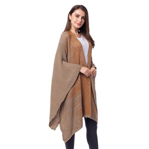 Coffee Colour Kimono (Size 118x58.5 Cm)