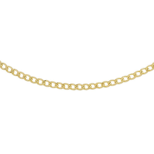 9K Yellow Gold Curb Chain (Size 20)