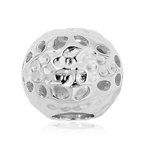 RACHEL GALLEY Rhodium Overlay Sterling Silver Lattice Pendant