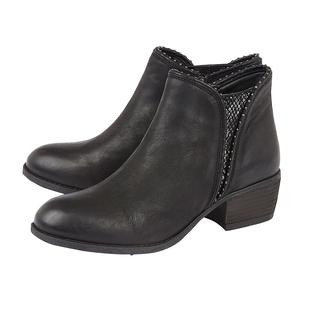 Lotus BENNY Block Heel Ankle Boots (Size 6) - Black
