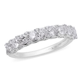 NY Close Out Deal -14K White Gold Diamond (Rnd) (I2/G-H) Ring 1.00 Ct.