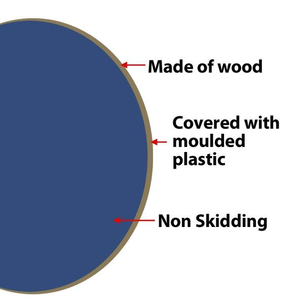 Wooden Non Skidding Wobble Board