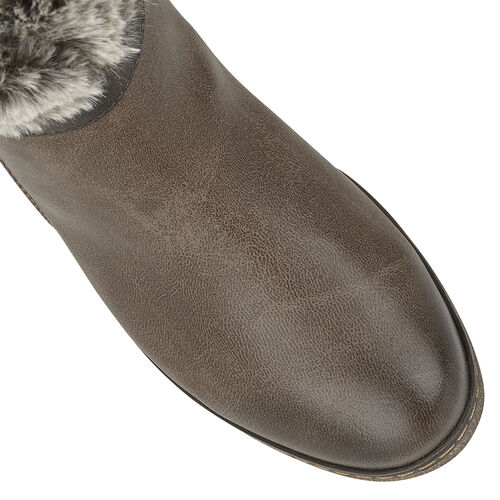 Lotus Charmaine Heeled Mid-Calf Ladies Boots (Size 4) - Brown