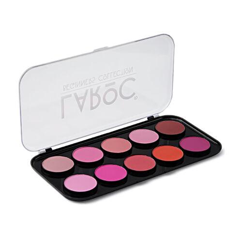 La Roc: 10 Colour Blusher Palette