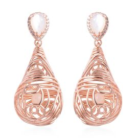 Isabella Liu - Sea Rhyme Collection - White Mother of Pearl (Pear and Rnd), Natural White Cambodian