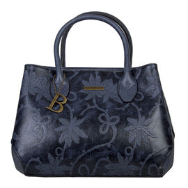Bulaggi Collection- Rose Handbag (Size 27x23x12 Cm) - Dark Blue