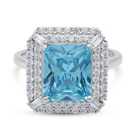 White Cubic Zirconia , CZ36RD2.2YMX-0.100cts. Ring  Sterling Silver 12.40 ct  11.950  Ct.