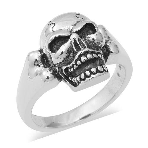 Skull Ring in Thai Sterling Silver