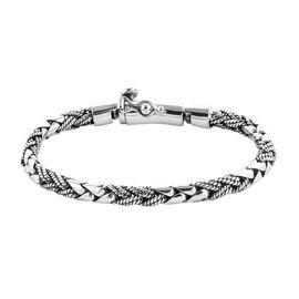 Royal Bali Collection Sterling Silver Bracelet (Size 7), Silver wt 27.00 Gms