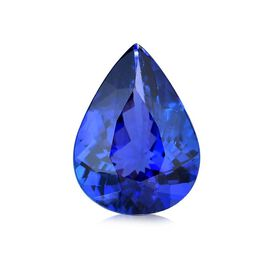 4.60 Cts 4A Tanzanite Pear Free Faceted