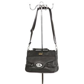 100% Genuine Leather Hand and Shoulder Bag (Size 17x25x7cm) with Buckle