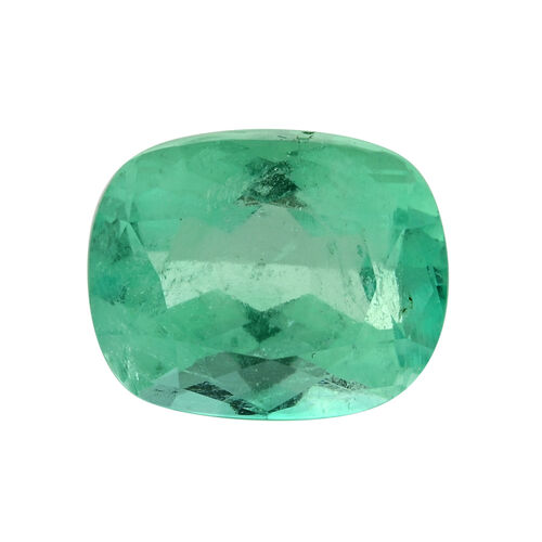 Colombian Emerald Cushion 12.5x10 Faceted 3A 6.540 Cts