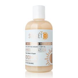 Sunset CBD: Body Wash Amber Flirtation (Deep Amber & Sugar)  - 240 ml (100MG)