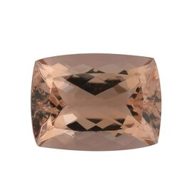 AAA Morganite Cushion 16x12 Faceted 9.95 Cts