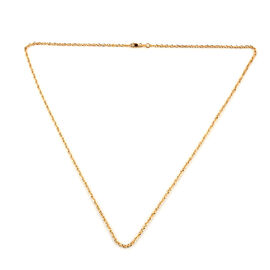 Close Out Deal- 9K Yellow Gold Prince of Wales Necklace (Size 20)