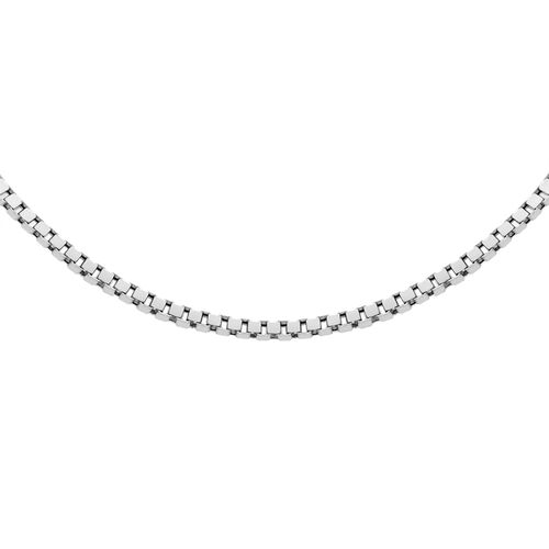 Sterling Silver Box Chain (Size 34), Silver wt 4.50 Gms