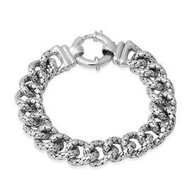 Link Chain Bracelet in Silver 23.28 Grams 8 Inch