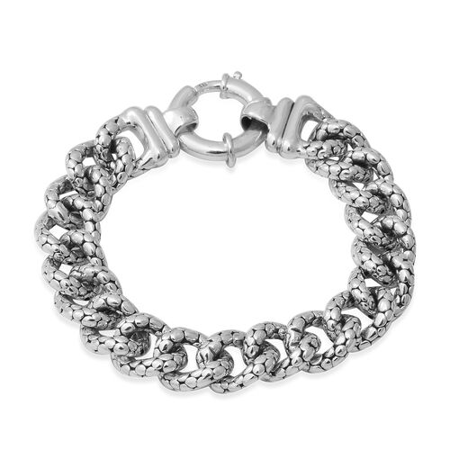 Link Chain Bracelet in Silver 23.28 Grams 8 Inch