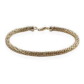 Royal Bali Collection - 9K Yellow Gold Bracelet (Size 7.25), Gold wt 8.48 Gms