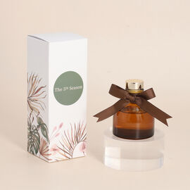 OTO - Close Out Deal - Ceramic Atmosphere Zen Tea Fragrance Reed Diffuser - Brown