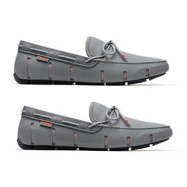 Swims Braided Lace Men's Loafer in Grey Colour