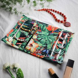 Speciality Styles Travel Floral Printed Jewellery Case- Multi