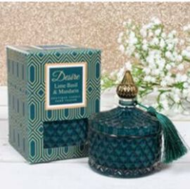 Desire Lime Basil Soy Candle Jar