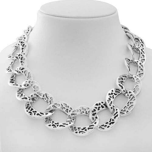 Limited Edition -  Vicenza Collection Sterling Silver Necklace (Size 20), Silver wt 76.00 Gms.
