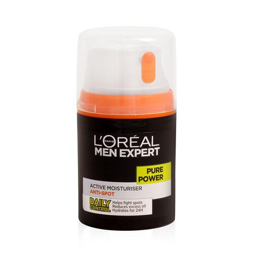 LOreal Paris Men Expert Pure Power Active Moisturiser Anti-Spot 50ml