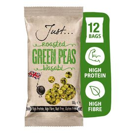 Just Roasted Peas Wasabi 12x50g