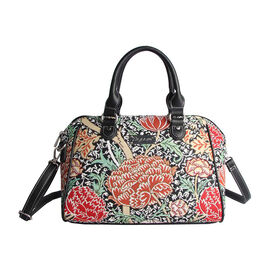 Signare - NEW Bowler Bag in The Cray Design. (30x14x23 cms) - Multicolour LIMITED STOCK