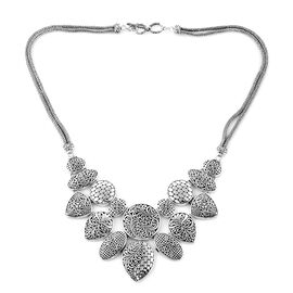 Royal Bali Collection Sterling Silver Necklace (Size 20-21), Silver wt 93.50 Gms