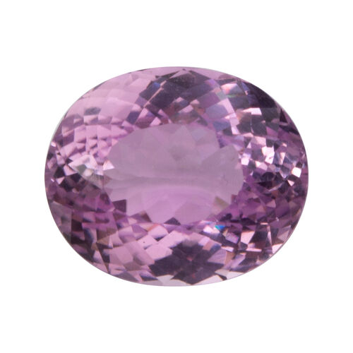 Kunzite (Oval 14.5x12 Faceted 3A) 12.260 Cts