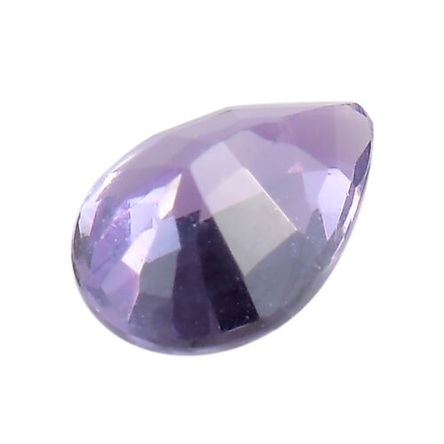 AAA Purple Sapphire Pear 5.5x4.2 Faceted 0.36 Cts