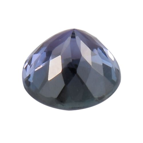 AA Peacock Tanzanite Round 6 Faceted 0.78 Cts