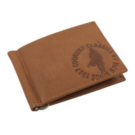 MCS Country Classics 100% Genuine Leather Wallet (8x11cm) - Cognac Colour