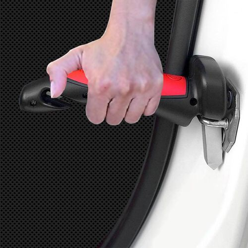 3 in 1 Emergency Escape Tool With Emergency Hammer, Seat Belt Cutter and LED Torch