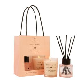 Wax Lyrical England - Yummy Mummy Scented Candle and Reed Diffuser Gift Bag