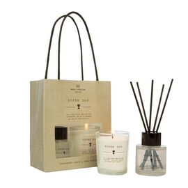 Wax Lyrical England - Super Dad Scented Candle and Reed Diffuser Gift Bag