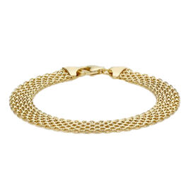 Bismark Chain Bracelet I 9K Yellow Gold 5.30 Grams 7.5 Inch