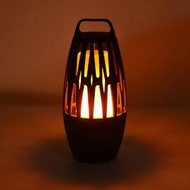 Fire Flame Wireless Bluetooth Speaker in Black