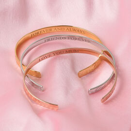 Personalise Engravable Stunning Secret Message Bangle