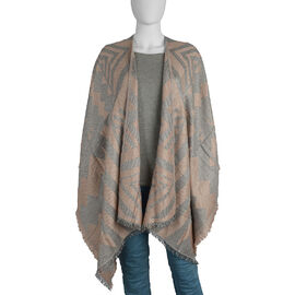 Close Out Deal- One Size Ruana - Grey