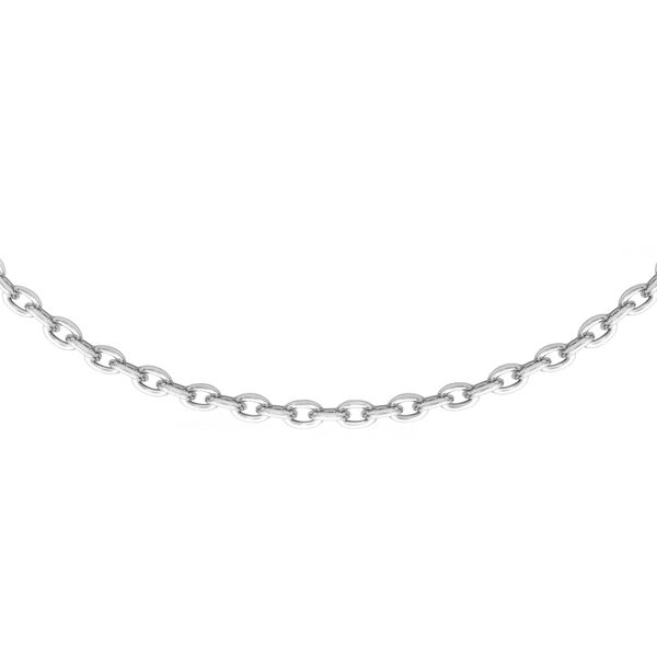 Sterling Silver Trace Chain (Size 24)